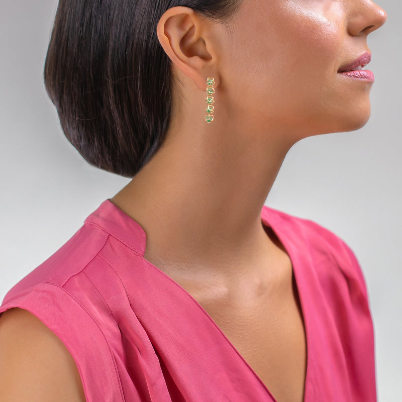 Designer earrings EMBRACE PARIS CLASSIC 5-Star Earrings - Boltenstern