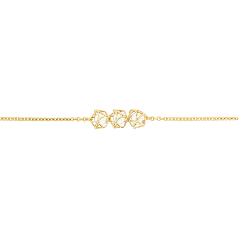 EMBRACE MOSCOW IMPERIAL 3-Star Bracelet 18ct Yellow Gold