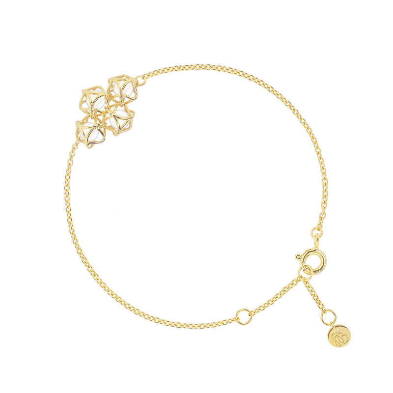 EMBRACE MOSCOW IMPERIAL Cloud Bracelet 18ct Yellow Gold