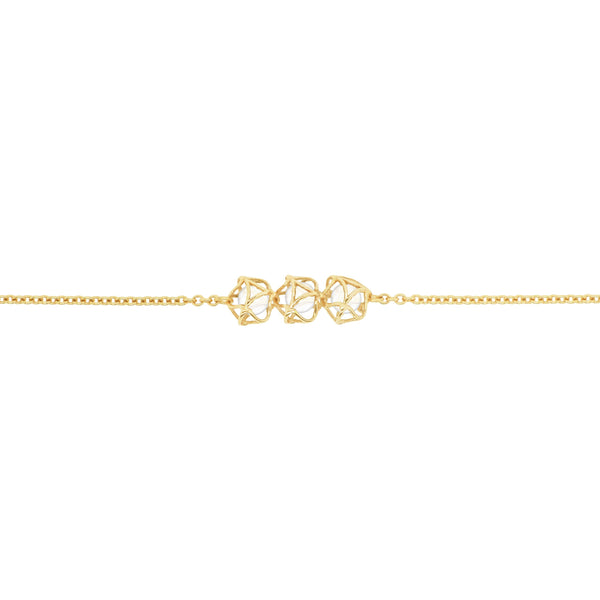 EMBRACE MOSCOW IMPERIAL 3-Star Necklace 18ct Yellow Gold