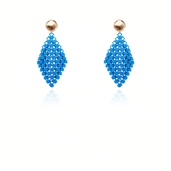 FABNORA | Bright Blue | Earrings S