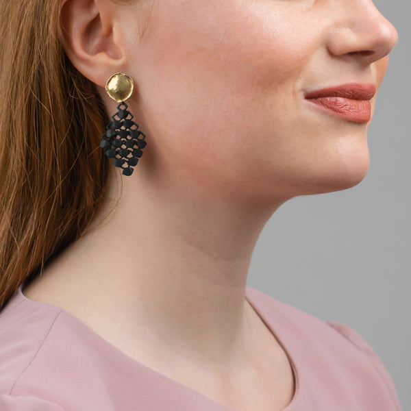 FABNORA | Onyx Black | Earrings Mini