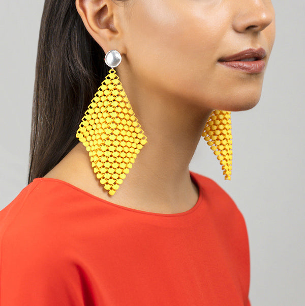 FABNORA  | Citrine Yellow | Earrings L