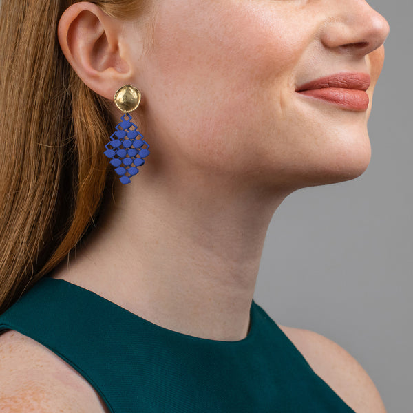 FABNORA | Marine Blue | Earrings Mini