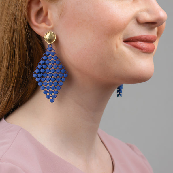 FABNORA | Marine Blue | Earrings S