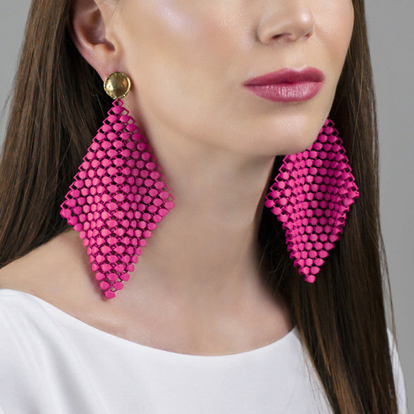 FABNORA | Hot Pink | Earrings L