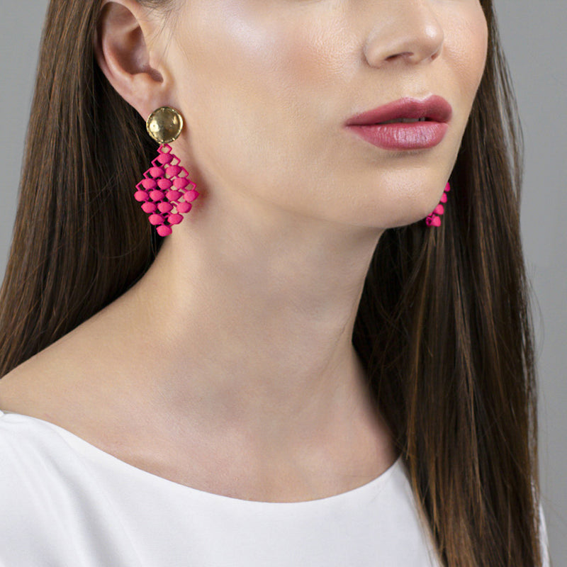 FABNORA | Hot Pink | Earrings Mini