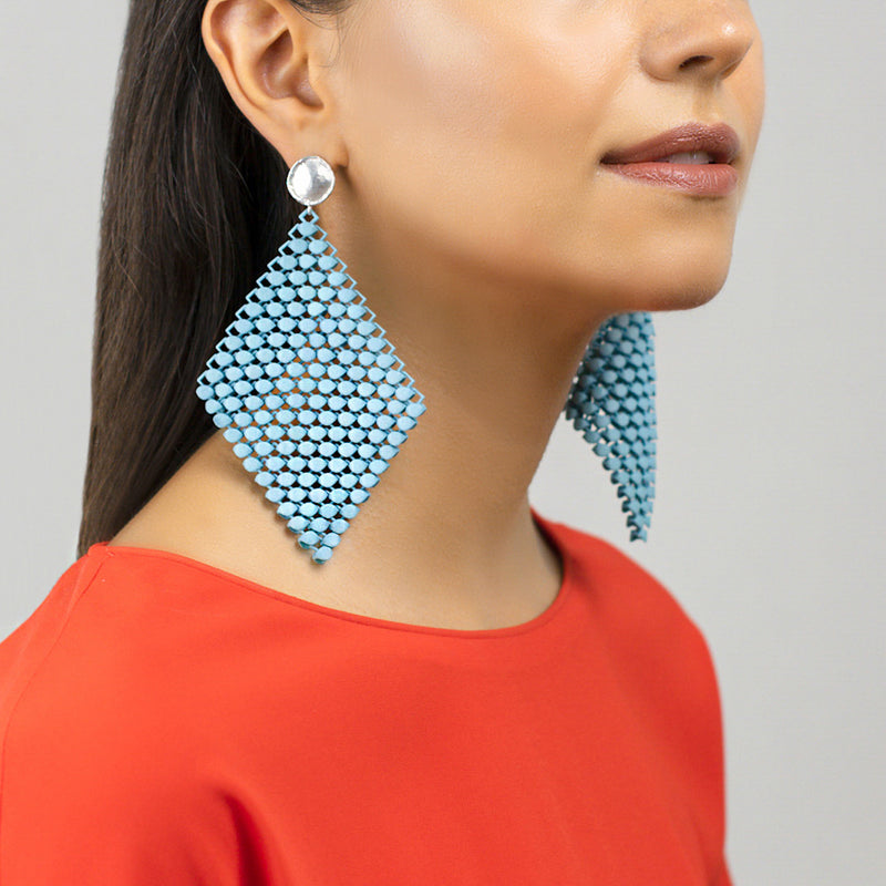 FABNORA | Sea Turquoise | Earrings L
