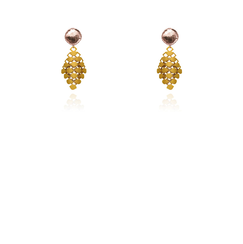 FABNORA | Bronze Shimmer | Earrings Mini