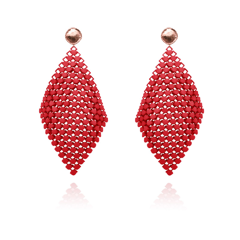 FABNORA | Fire Red | Earrings L