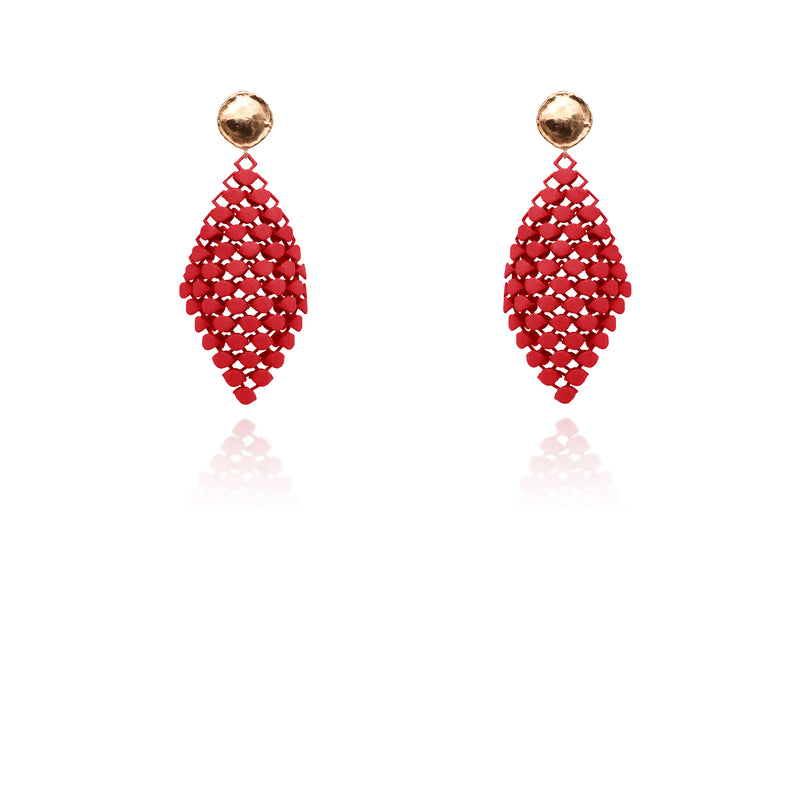 FABNORA | Fire Red | Earrings S