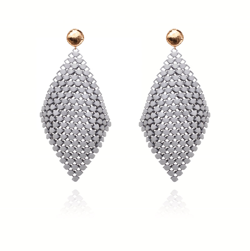 FABNORA | Stone Grey | Earrings L