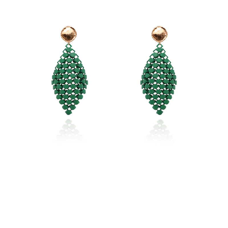 FABNORA | Forest Green | Earrings S