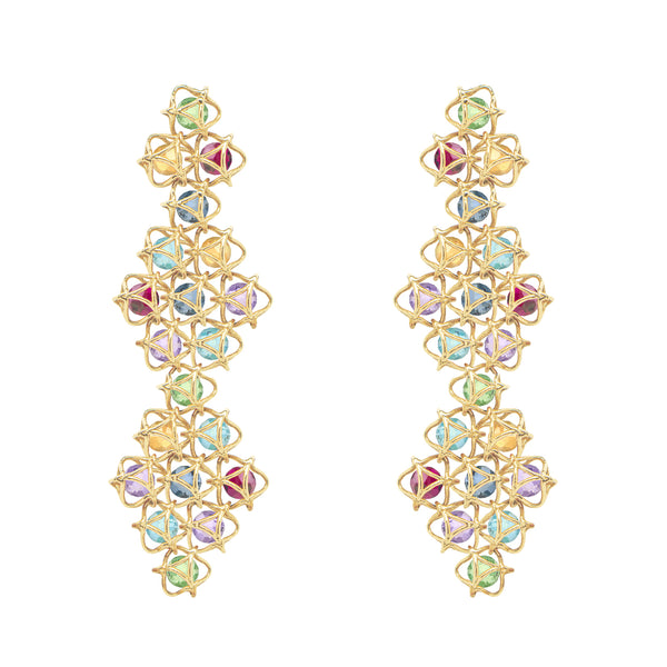 EMBRACE COUTURE MONTREAL LEAVES Contessa Earrings