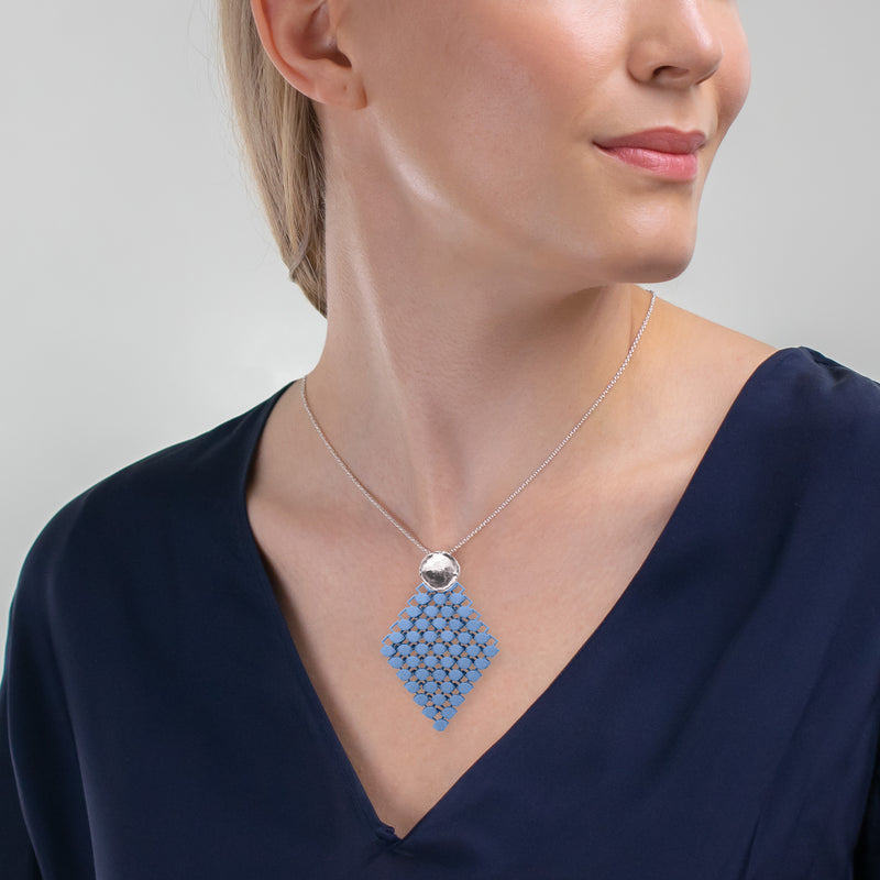 FABNORA AMALFI | Topaz Blue | Necklace S