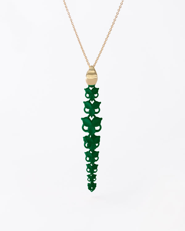 FABNORA Blossom | Forrest Green | Necklace