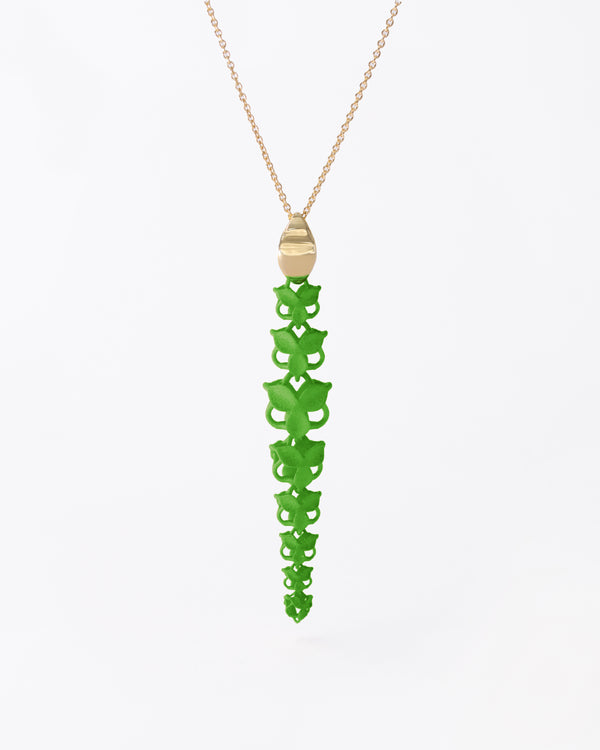 FABNORA Blossom | Lime Green | Necklace