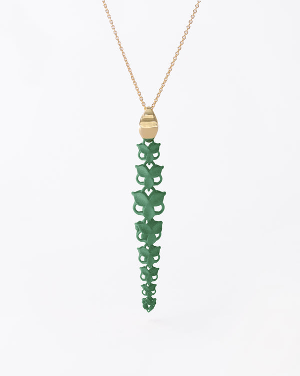 FABNORA Blossom | Sage Green | Necklace
