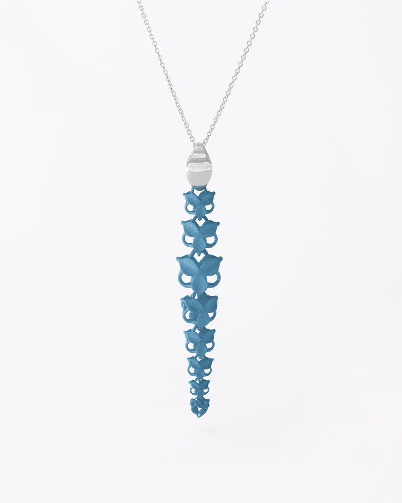 FABNORA Blossom | Topaz Blue | Necklace