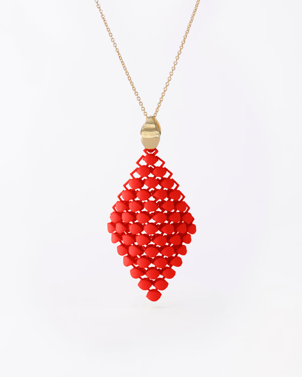 FABNORA Essence | Lobster Red | Necklace
