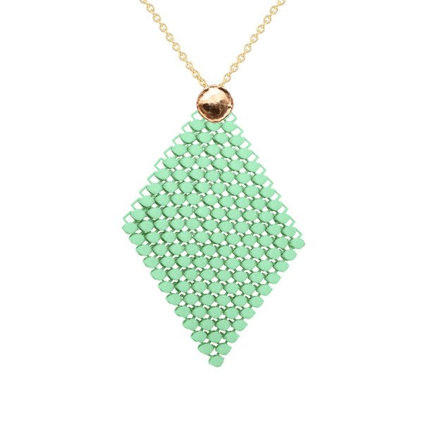 FABNORA AMALFI | Peridot Green | Necklace L