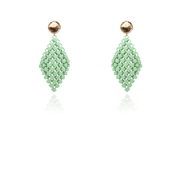 FABNORA | Peridot Green | Earrings S