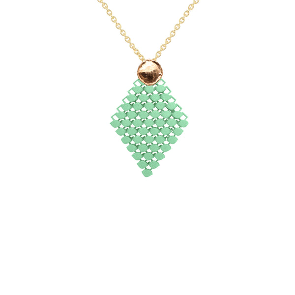 FABNORA AMALFI | Peridot Green | Necklace S