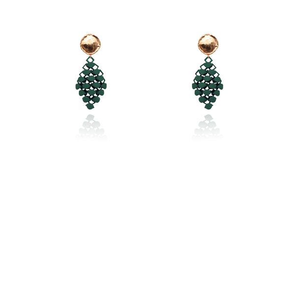 FABNORA | Pine Green | Earrings Mini
