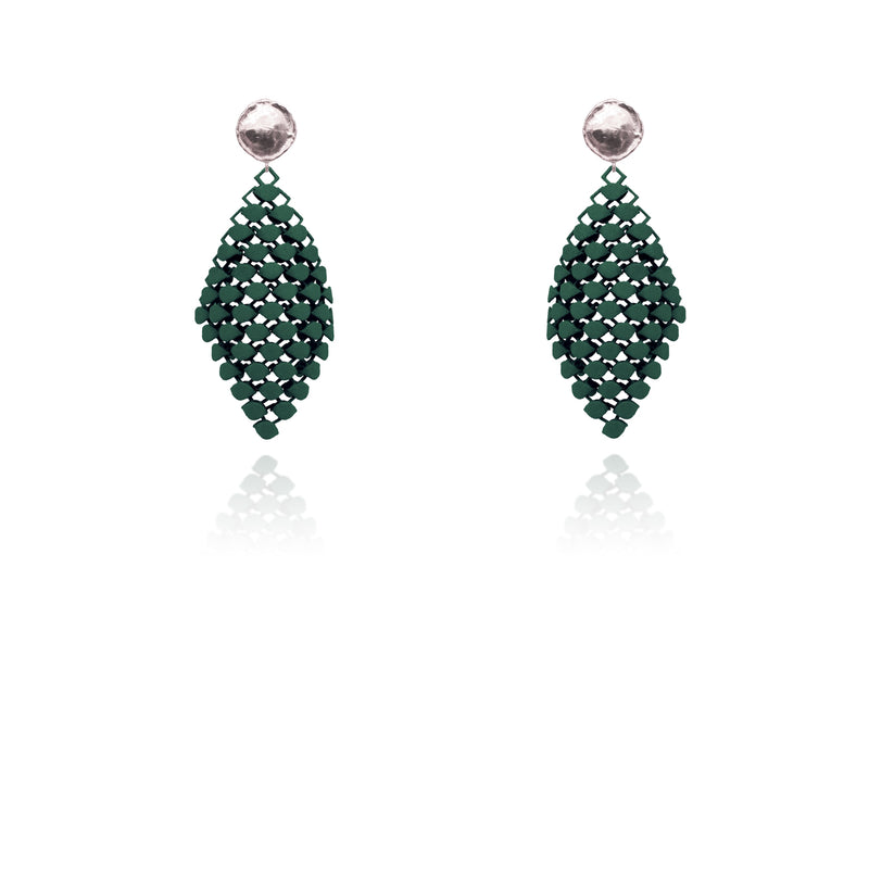 FABNORA | Pine Green | Earrings S