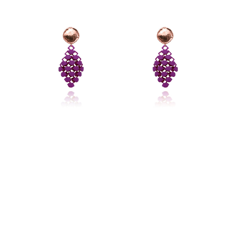 FABNORA | Popping Purple | Earrings Mini