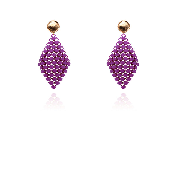 FABNORA | Popping Purple | Earrings S
