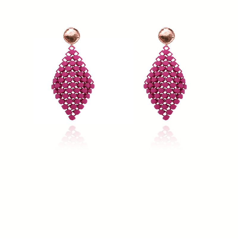 FABNORA | Berry Purple | Earrings S