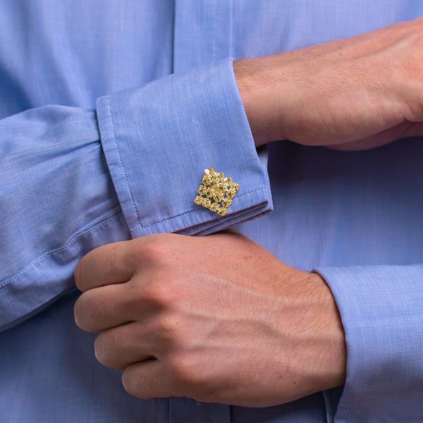 RESONANCE Yellowgold Cufflinks