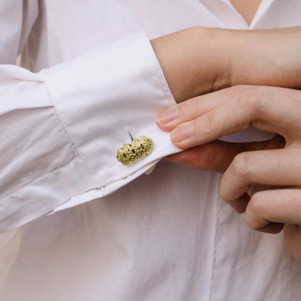 Signature Cufflinks Gold