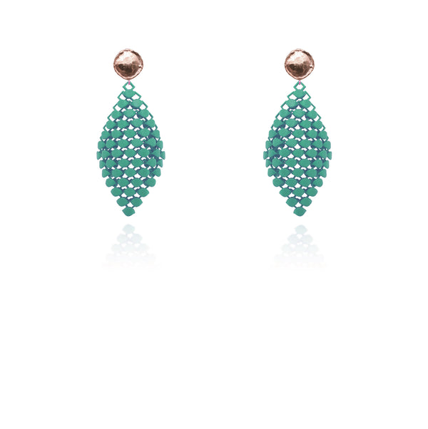 FABNORA | Sage Green | Earrings S