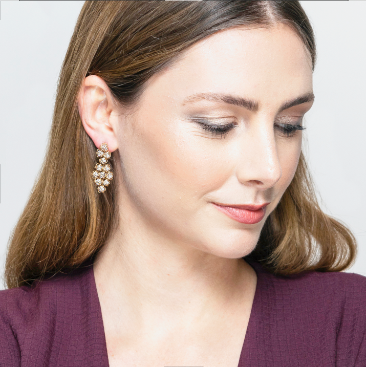 EMBRACE MOSCOW IMPERIAL Couture Earrings