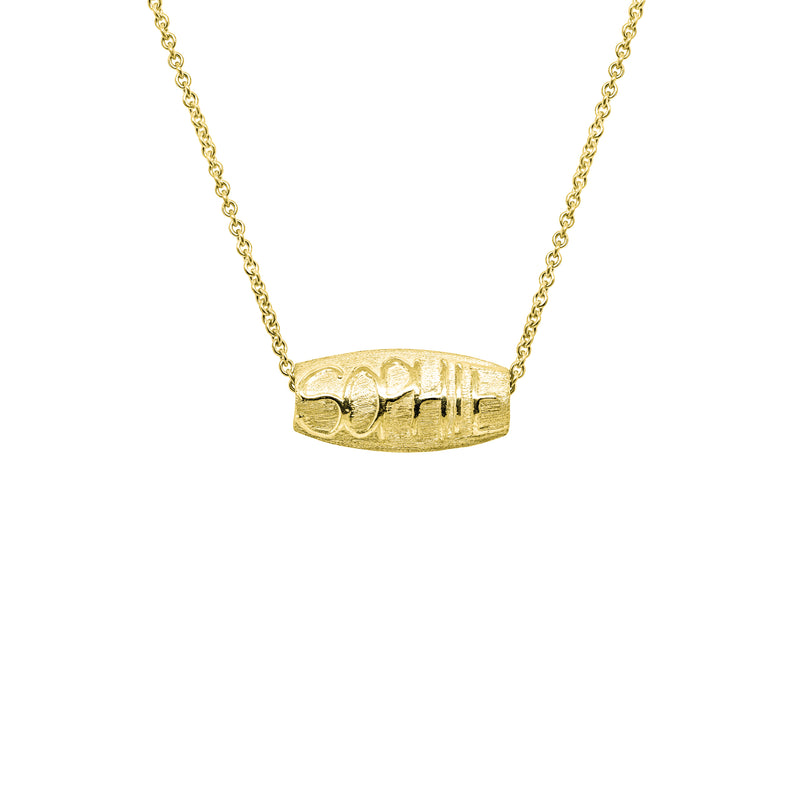 Signature Necklace Gold