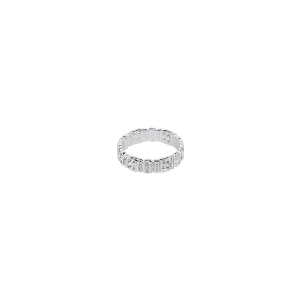Signature Ring S Silver