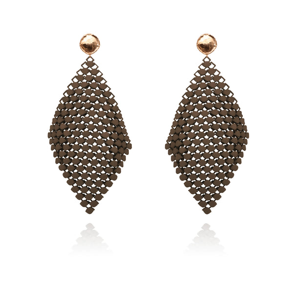 FABNORA | Terra Brown | Earrings L