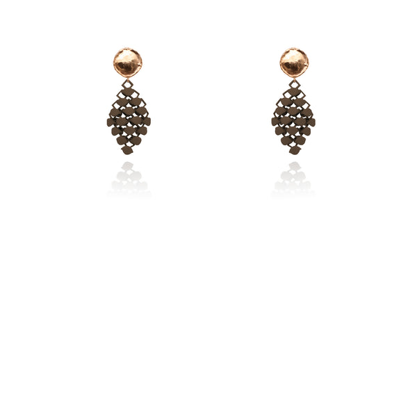 FABNORA | Terra Brown | Earrings Mini