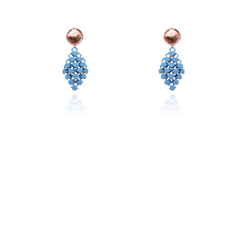 FABNORA | Topaz Blue | Earrings Mini
