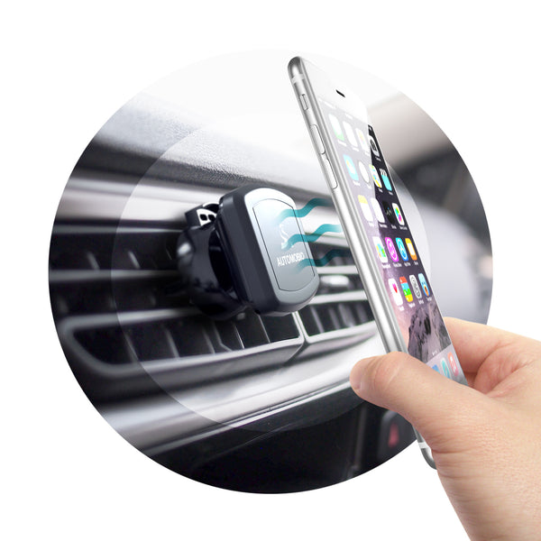 Automobio Rotatable Magnetic Phone Holder for Air Vent