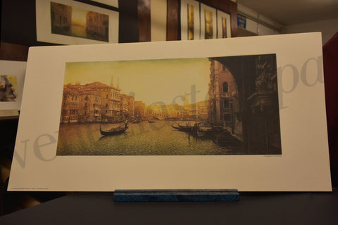 Venice canals with gondolas complete collection by Fabio Baldan venetian artist