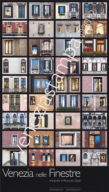 Venice Windows Views (aka VWV) poster by Riccardo Zipoli