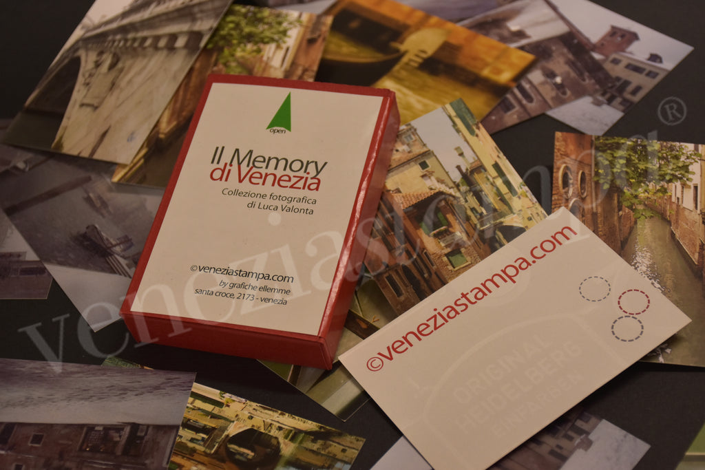 Venice views as Memory Game!