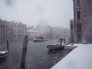 san stae with the snow