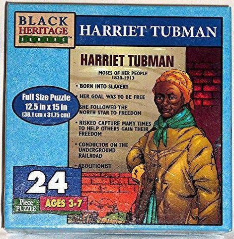 "Black Heritage Series ""Harriet Tubman"" 24 Piece Full Size Puzzle"