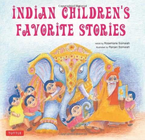 Indian Children's Favorite Stories Hardcover