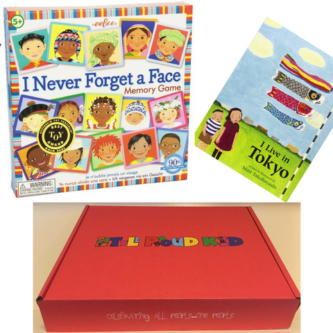 Multicultural Gift Box - Global Citizen (Ages 3-8)