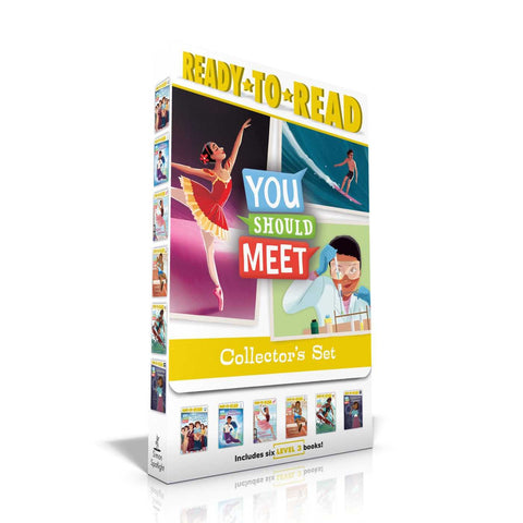 You Should Meet Collector's Set: Women Who Launched the Computer Age; Mae Jemison; Misty Copeland; Jesse Owens; Duke Kahanamoku; Katherine Johnson Paperback